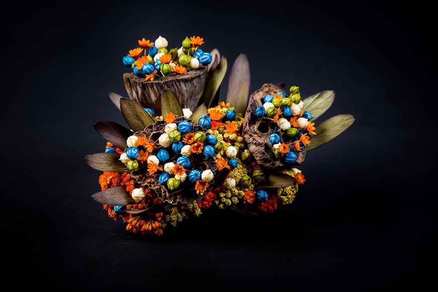 Aranjamente cu flori uscate