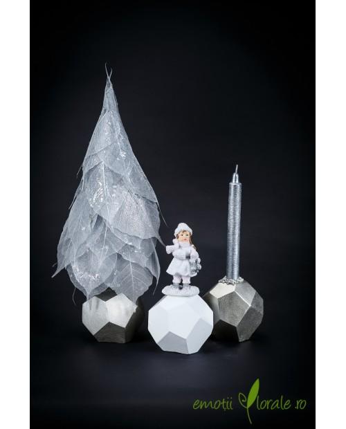 Poveste de Craciun cu elemente arginti DEC012