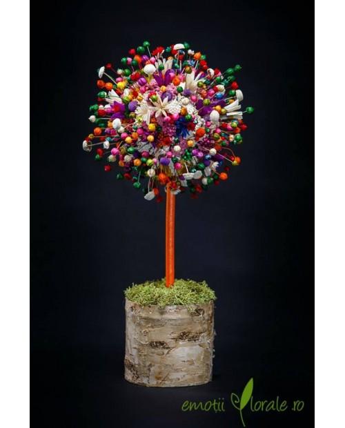 Copac special cu flori uscate B306C6