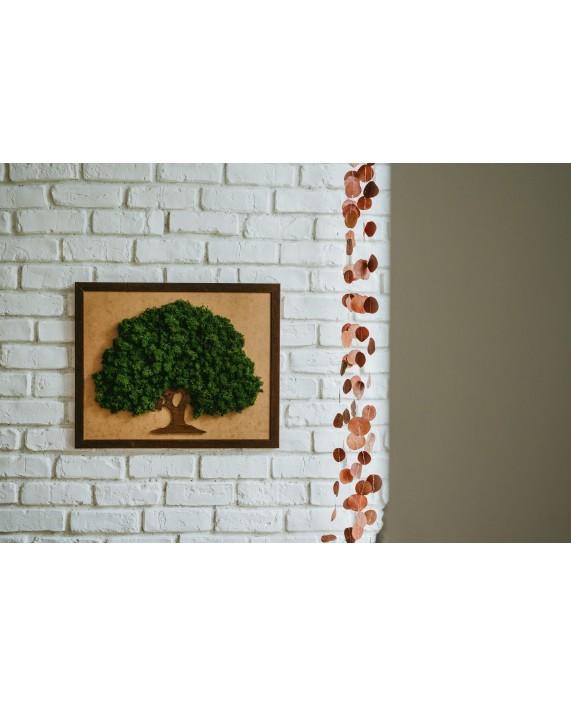 Tablou copac cu licheni stabilizati CP2176